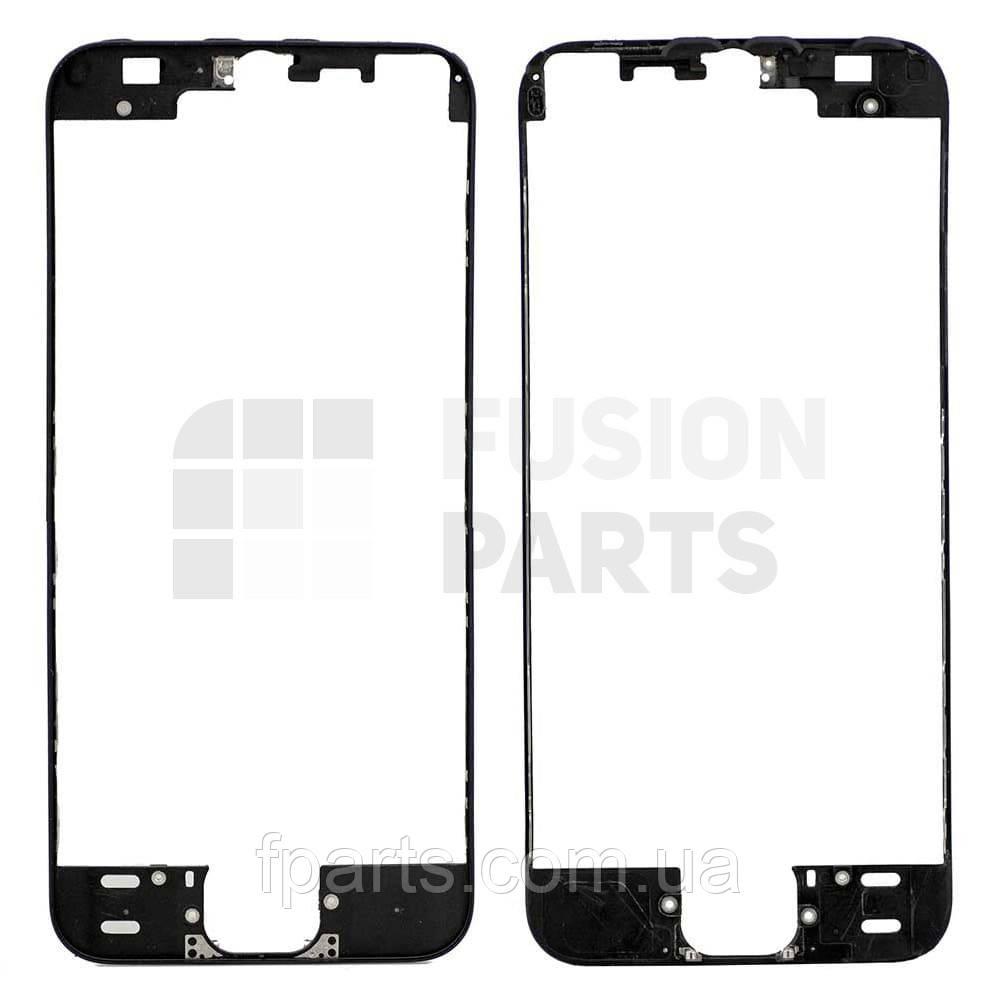 Рамка дисплея iPhone 5S с термоклеем (Black)