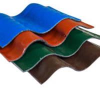 "Металлополимерный шифер ""Метапласт"", лист вол, размер 840х6000х3.0 мм. Площадь листа 5.04 кв.м."
