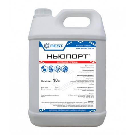Гербицид Ньюпорт (аналог Миура) - хизалофоп-П-этил 125 г/л, для сахарной свеклы, подсолнечника, сои и рапса, фото 2