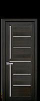 Межкомнатные двери Новый стиль Диана  со стеклом сатин дуб мускат