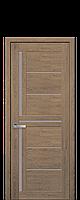 Межкомнатные двери Новый стиль Диана  со стеклом сатин дуб медовый