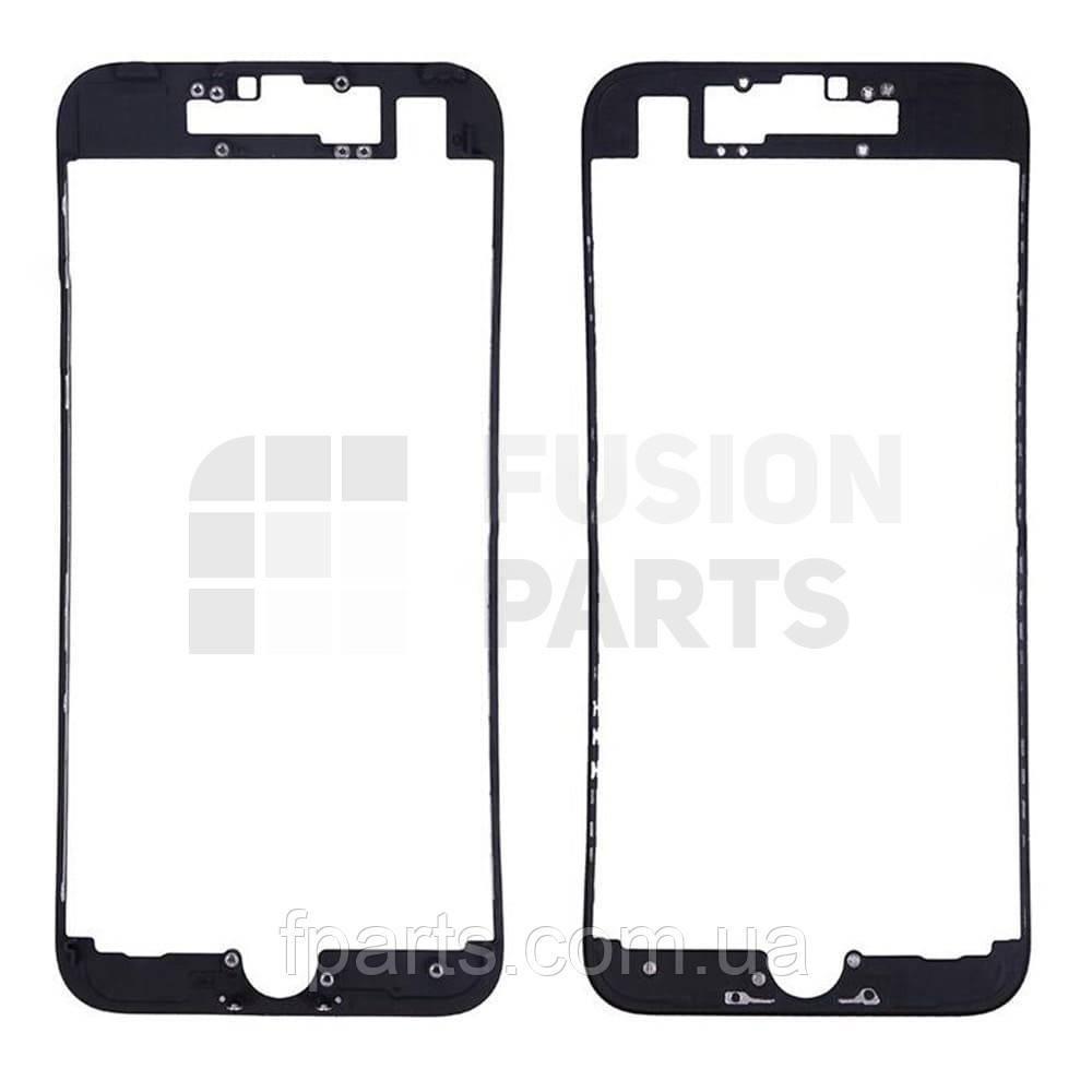 Рамка дисплея iPhone 7 с термоклеем (Black)