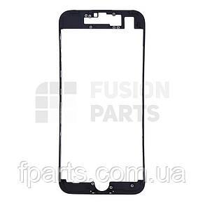 Рамка дисплея iPhone 7 с термоклеем (Black), фото 2