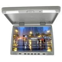 """Автомобильный потолочный монитор 15"""" широкоформатный LCD в машину телевизор"""