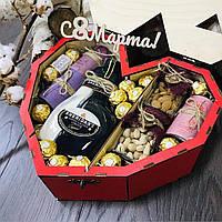 Подарок сердце 8 марта. Подарок жене, маме, любимой, девушке.