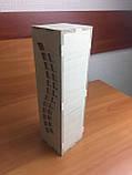 Подарункова дерев'яна коробка для пляшки з з фігурним вирізом з боків, фото 2