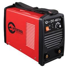 Сварочный инвертор INTERTOOL DT-4016 (5.3 кВт, 160 А)