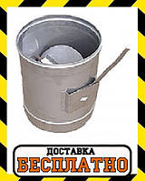 Регулятор тяги термо нерж/оц Версия Люкс толщина 1 мм, фото 1