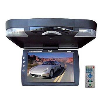 Телевизор потолочный 14.1″ монитор потолочный черный автомобильный