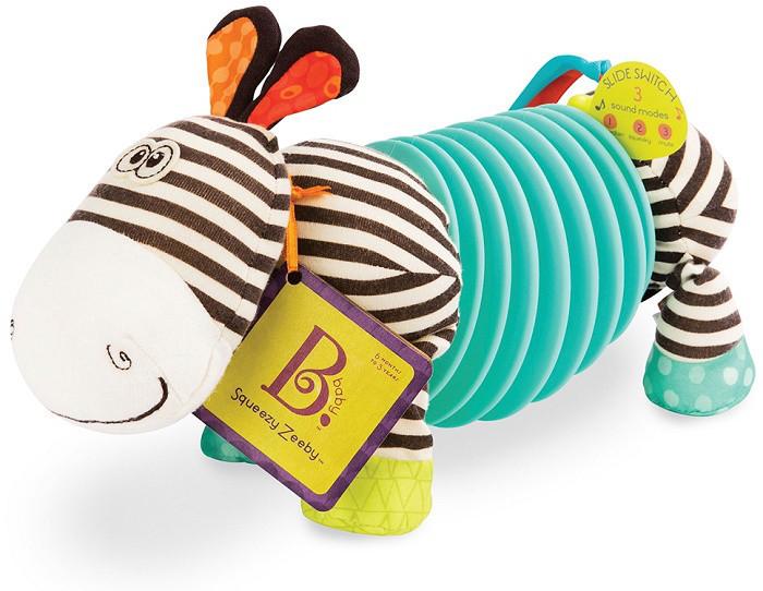 Розвиваюча іграшка Battat Зебра - Тянубра (BX1534GTZ)