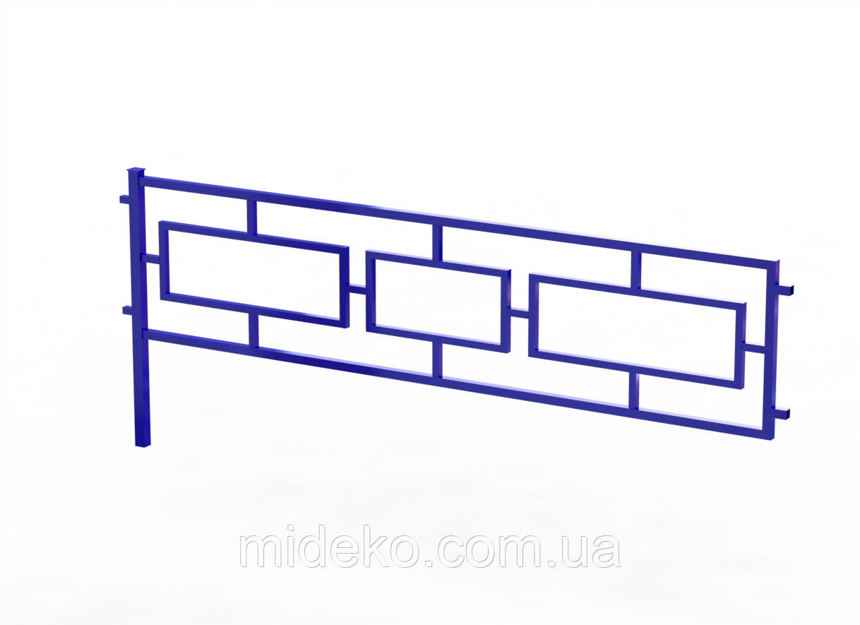 Секція огорожі дитячих майданчиків №3