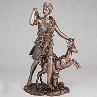 "Статуэтка Veronese 030184 29 см бронзовая ""Лань"""