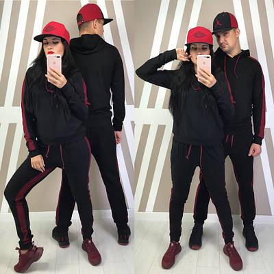 Модный спортивный костюм для пары (разные расцветки)