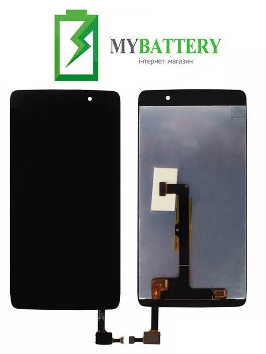 Дисплей (LCD) Alcatel 6055K One Touch Idol 4 с сенсором чёрный