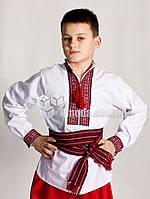 Молодежные вышиванки с геометрическим узором Сергийко