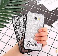 Силіконовий 3D чехол для телефону Samsung Galaxy A8 2018p. A530F силиконовый на самсунг гелекси кружево