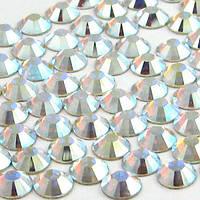 Стразы стекло Crystal AB (хамелеон), ss12 (3,5мм), 100шт