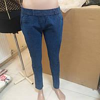 Женские джинсовые лосины