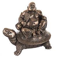 "Статуэтка Veronese 030193 12 см бронзовая ""Будда"""
