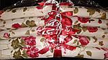 Набор объемных мягких вешалок для одежды сатин 38см.(набор 5 шт.), фото 3
