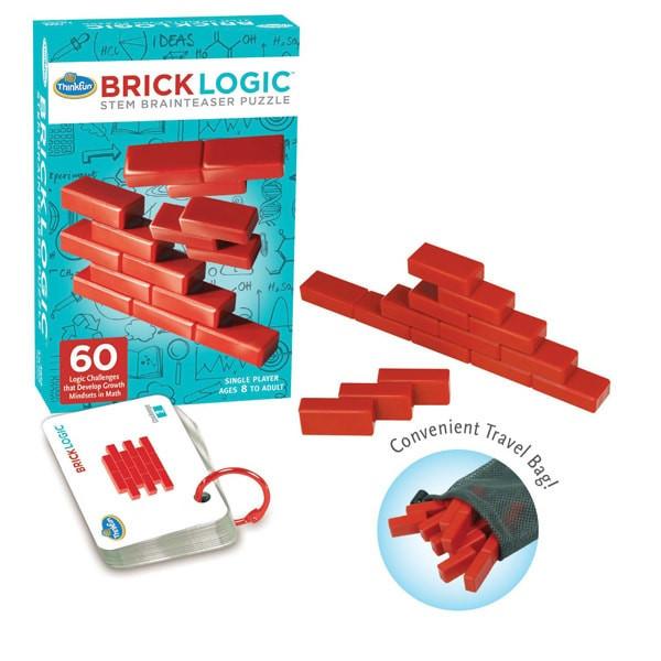 Настольная игра головоломка Стена из кирпичиков (ThinkFun Brick Logic)