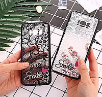 Силіконовий 3D чехол для телефону Samsung Galaxy Grand Prime G530 G531силиконовый на самсунг гелекси кружево