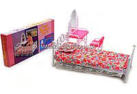 Детская игрушечная мебель Глория Gloria для кукол Барби Спальня 9314. Обустройте кукольный домик, фото 1