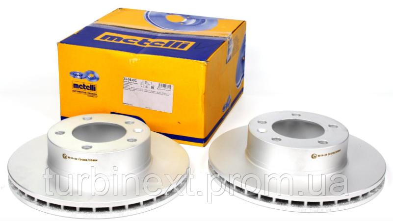 Диск тормозной METELLI 23-0532C (передний) Renault Master/Opel Movano 98- (305,5x28) (R16)