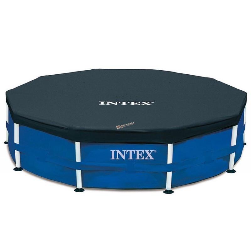 Тент для каркасного бассейна Intex 28032 457см