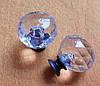Ручка мебельная стекло 30х25 мм
