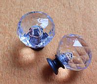 Ручка мебельная стекло 30х25 мм, фото 1