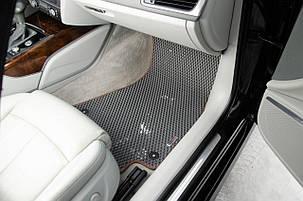 Автоковрики для Chevrolet Niva С/без подстаканником на перемычке (2002+) eva коврики от ТМ EvaKovrik