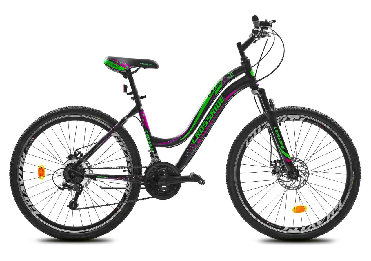 """Горный велосипед CROSSRIDE CHERRY 26"""" Черный"""