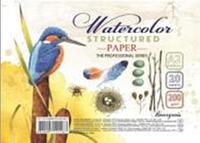 Бумага для художников, для акварели А2, мелкое зерно, 200г/м2, Мандарин