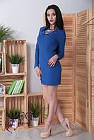 Женское платье, длинный рукав, длина до средины бедра