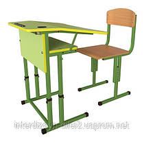 Комплект парта трапеция и ученический стул