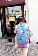 Универсальный  рюкзак. Стыльний рюкзак. Рюкзаки унисекс. Современные рюкзаки.Код: КРСК71, фото 1