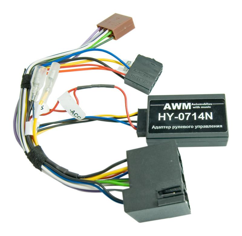 Адаптер кнопок на кермі AWM Hyundai i30 (HY-0714N)