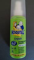 Москитол Спрей от комаров универсальная защита 3 часа 100мл   , фото 1