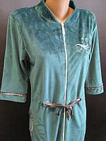 Качественные велюровые халаты., фото 1