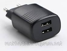 Мережевий зарядний пристрій Puridea C03 Dual Black
