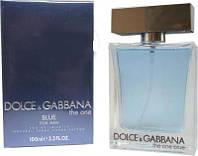 Мужские духи Dolce&Gabbana The One Blue Man edt 100ml реплика