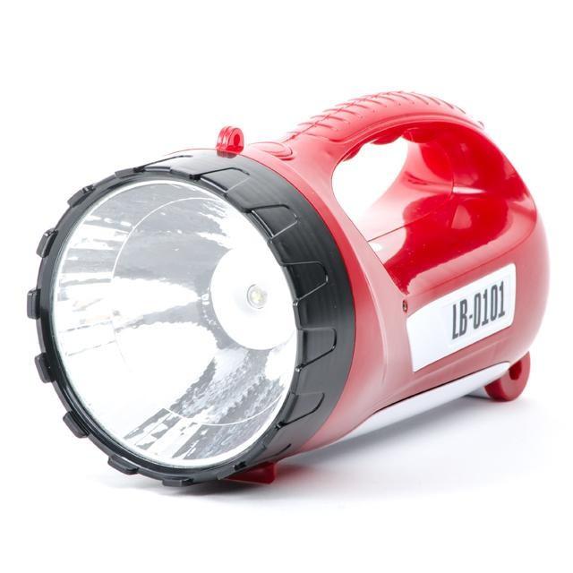 Фонарь аккумуляторный 1 LED 5W+15 LED INTERTOOL LB-0101, фото 1