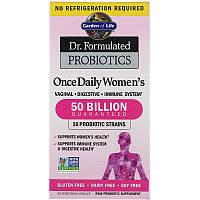 Garden of Life, Разработанные доктором пробиотики, витаминный комплекс Once Daily Women's, 30 капсул