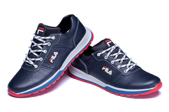 2b5687c2a Мужские кожаные кроссовки FILA Light Flight Blue радуют взгляд качеством  изготовления и подчеркивает статус, харизму и вкус своего владельца.