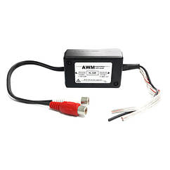 Преобразователь уровня сигнала 2 канальный AWM HL-025