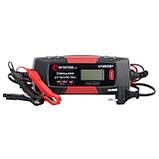 Зарядное устройство 6/12В, 1/2/3/4А, 230В, зимний режим зарядки, дисплей, максимальная емкость заряжаемого, фото 6