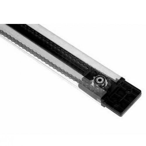 Направляющая рейка Faac с ременной передачей для прорези высотой до 3,2 м  (из двух частей)