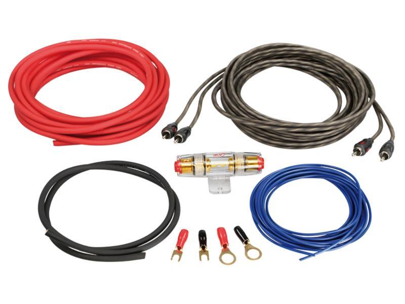 Набор для монтажа автомобильного усилителя 6 мм² ACV LK-6