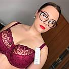 Бюстгальтер мягкий бордовый Kris Line Caren, фото 4